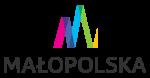 logo małopolska, kolorowa stylizowana litera M